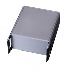 229x2u-250 electronic project box aluminum case diy with handle equipment enclosure box